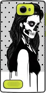 Coque Archos 50 Diamond Lady Skull lace