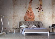 Wallpaper Model ZOO Designed by Alba Ferrari & Valeria Zaltron for Collection 15 |  © London Art 2015  www.londonartwallpaper.com www.londonart.it