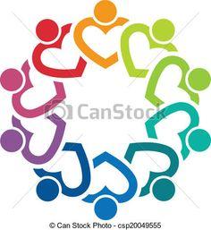 Team Heart 10 image logo - csp20049555
