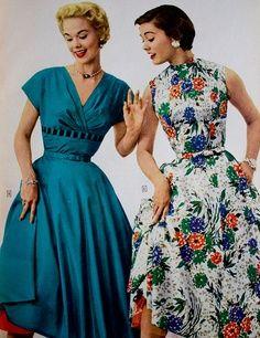1955 Sears Dress Advertisement