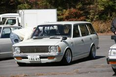 1973 Toyota Corolla wagon KE20 Maintenance of old vehicles: the material for new cogs/casters/gears/pads could be cast polyamide which I (Cast polyamide) can produce