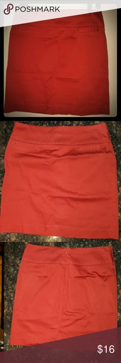 Burnt orange pencil skirt Burnt orange pencil skirt Sandro Skirts Pencil