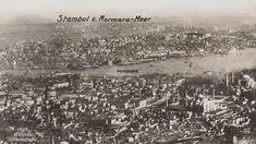 1918 yılında havalanan zeplinin kaç uçuş yaptığı bilgisine ulaşamadım fakat İstanbul'un yine zeplinden çekilmiş başka fotoğraflarına da rastlamak mümkün.