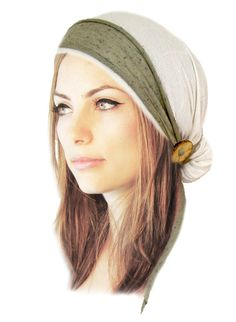 Pre tied Bandana Boho Chic Tichel Chemo Hat Chemo by ShariRoseShop
