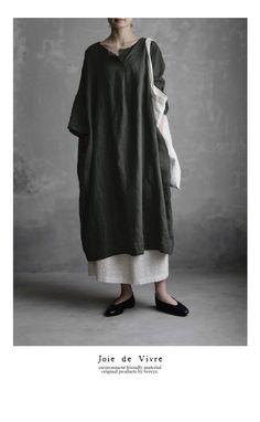 BerryStyle: Joie de Vivre 프렌치 린넨 와셔 소형선 선장 코쿤 원피스 | 라쿠텐 일본 Muslim Fashion, Modest Fashion, Hijab Fashion, Fashion Outfits, Modest Dresses, Modest Outfits, Casual Outfits, Womens Fashion Online, Latest Fashion For Women