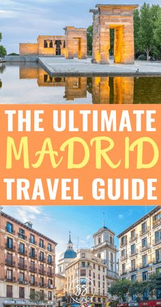 The Ultimate Madrid Travel Guide: What To Do, See, and Eat Europe Travel Tips, Spain Travel, Travel Advice, Travel Guides, Portugal Travel, Amazing Destinations, Travel Destinations, Travel Around The World, Around The Worlds