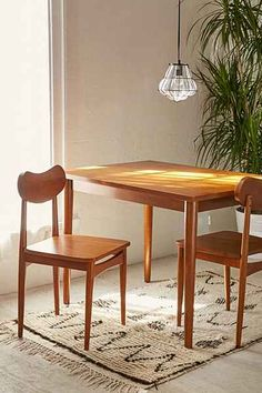 Eva Dining Chair Set Urban Outers Mid Century Pallet House Apartment Furniture