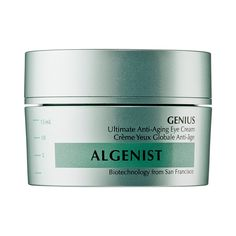 ALGENIST - Genius Ultimate Anti-Aging Eye Cream: A unique, rich eye cream that addresses advanced antiaging concerns for visible results in as little as 10 days. #Sephora #skincare
