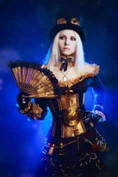 Oh to be young enough to be able to wear some of these amazing Steampunk outfits, gorgeous.
