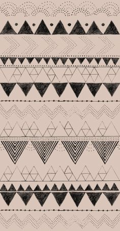 CUT Stoff (Anna Härlin) Screen Design, Cute Pattern, Pattern Design, Color Patterns, Print Patterns, Close My Eyes, Designs To Draw, Triangles, Line Art