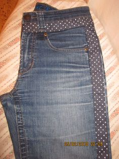 Jeans Recycling Recycle Jeans Vestido Jeans Jeans Dress Sewing Shorts Denim Outfit Shirt Outfit Denim Ideas Old Jeans Jeans Fabric, Patchwork Jeans, Jeans Recycling, Sewing Shorts, Techniques Couture, Denim Ideas, Striped Jeans, Old Jeans, Girls Jeans