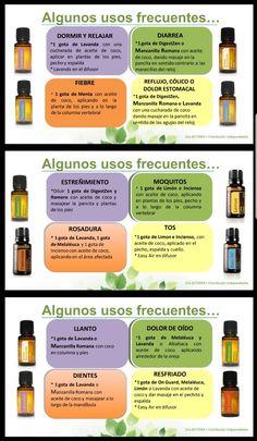 Usos aceites