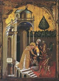 Histories of Saint Lucy, Jacobello del Fiore Fermo European Paintings, Santa Lucia, Art World, Renaissance, Saints, Sculptures, Paul Klee, History, Palazzo