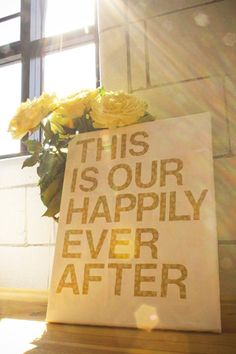 TUTORIAL: Super easy DIY wall art using your favorite quote. Very quick and inexpensive. Great wedding gift idea, or for your DIY wedding! Do It Yourself Design, Do It Yourself Wedding, Do It Yourself Home, Diy Wall Art, Diy Art, Fun Crafts, Diy And Crafts, Great Wedding Gifts, Wedding Ideas
