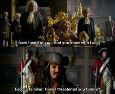 Pirates of the Caribbean: On Stranger Tides<<< Also, Uncle Vernon from Harry Potter is in this one<<<Finnick from Hunger Games is in one of them Funny Disney Memes, Disney Quotes, Funny Relatable Memes, Jack Sparrow Funny, Jack Sparrow Quotes, Johnny Depp, Narnia, On Stranger Tides, Pirate Life