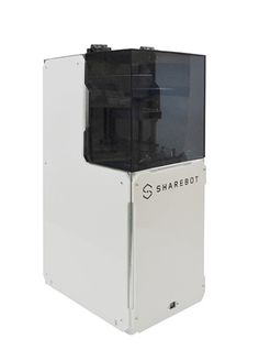 3ders.org - Sharebot launches their Voyager DLP 3D Printer and a complete line of resins | 3D Printer News & 3D Printing News