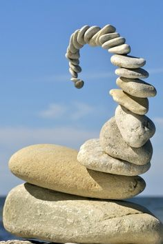 What is gravity allowed us to create and stack things any way we wanted. This is the way you should see the stones when they come at you. Make them useful someday!