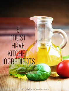 5 Must have kitchen Ingredients Fresh Basil Leaves, Vitamin K, Types Of Cancers, Beta Carotene, Grilled Fish, Cholesterol Levels, Indian Dishes, Easy Salads, Health Problems