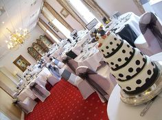 By Greenwoods Hotel Spa and Retreat @GreenwoodsHotel We would like to wish the very new Mr & Mrs Coleman the very happiest future together. We love their wedding breakfast set up. http://www.greenwoodshotel.com/