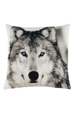 Shiraleah 'Alaska Wolf' Pillow available at #Nordstrom
