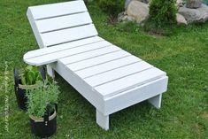 DIY lepotuoli / sun chair