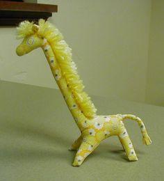 free  vintage giraffe pattern
