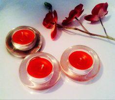 Lot de 3 bougies artisanales Française , sensuel, rouge, parfum huile essentielle patchouli BIO