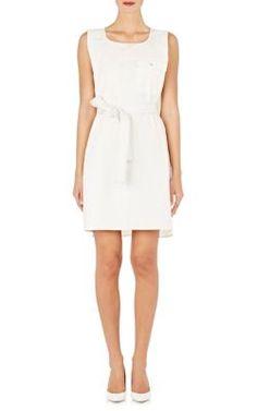 MAISON MARGIELA Slub Micro-Canvas Shift Dress. #maisonmargiela #cloth #dress