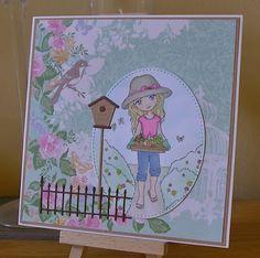 julieanne's cabin: In The Garden.....