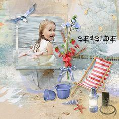 The Countryside at the Seaside by Kitty Scrap Template by Tiramisu Designs Photo Anastasiya Landa