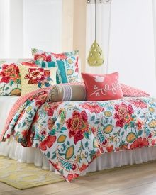 Cassia Floral Print Luxury Quilt Collection - Bed & Bath | Stein Mart