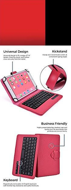 Lg G Pad 8 Review. LG G Pad 8.0, 8.0 LTE keyboard case, COOPER INFINITE EXECUTIVE 2-in-1 Wireless Bluetooth Keyboard Magnetic Leather Travel Cases Cover Holder Folio Portfolio + Stand Tab V480 V490 (Rose Red).  #lg #g #pad #8 #review #lgg #gpad #pad8