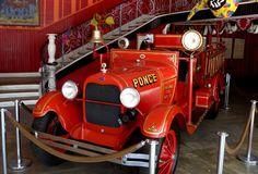Antiguo carro de bomberos