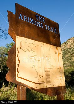 trail map sign - Google Search