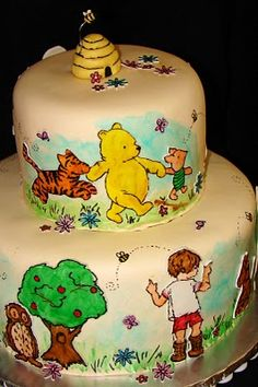I JUST LOVE POOH!!!!!!!!   I OULD SO WANT THIS FOR MY BIRTHDAY CAKE ANY DAY!