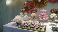 Mesa  de  Dulces Table Decorations, Cake, Desserts, Food, Home Decor, Candy Stations, The Creation, Mesas, Tailgate Desserts