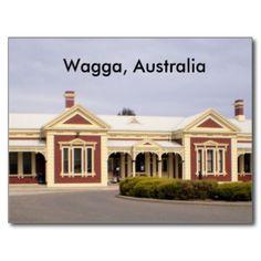 Wagga, Australia postcard