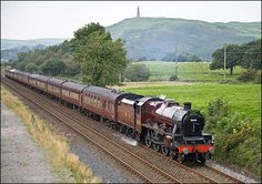 ast Fellsman on it's return leg from Ravenglass to Carnforth seen passing through Next Ness on 30-08-2008. Photo by Mark Butcher, Dalton-In-Furness.