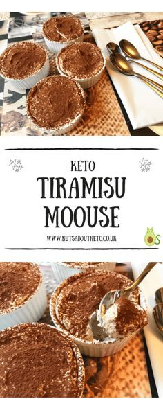 Keto Tiramisu Mousse SOUNDS LIKE, ONE VERY SERIOUS DESSERT!! ;)  SO INCREDIBLY DELICIOUS, I CAN'T WAIT TO TRY THIS! ❤️