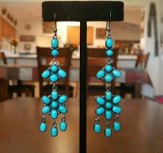Check out this item in my Etsy shop https://www.etsy.com/listing/258527577/native-american-turquoise-and-silver