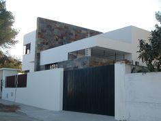 #Casas #Moderno #Exterior #Puertas #Fachada #Plantas #Suelos #Ventanas