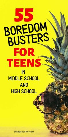The best 55 Boredom Busters for Teens! From learning life skills to easy crafts, get this teenager activities list to help your kids stay busy. Life Skills Activities, Activities For Teens, List Of Activities, Games For Teens, Summer Activities, Teen Boys, Tween, Girls, Knowledge Society