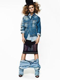 Nicole by Alex Evans Alex Evans, New Face, Toronto, Management, Faces, Models, Denim, Fashion, Templates