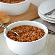 Homemade Baked Beans. You'll never want to eat store bought baked ...