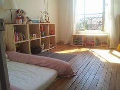 Chambre Montessori pour bébé. Les grands principes. | salle ...