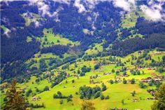 The beautiful Swiss Alps, Switzerland