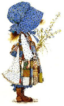I have always loved Holly Hobbie. I still have my first Holly Hobbie doll my sister bought me for my or b-day Holly Hobbie, Anne Geddes, My Childhood Memories, Sweet Memories, Retro, Kid Character, Ol Days, My Memory, The Good Old Days