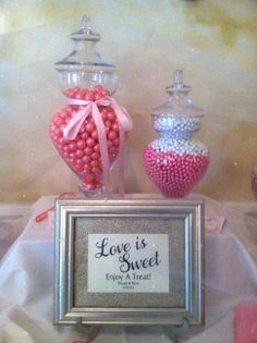 love is sweet enjoy a treat wedding candy table event center at blue