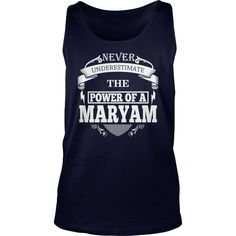 MARYAM - Never underestimate the power of MARYAM - MARYAM name - MARYAM Name Gifts - birthday gifts for MARYAM - MARYAM Shirts - MARYAM T-shirt - Best Sellers #gift #ideas #Popular #Everything #Videos #Shop #Animals #pets #Architecture #Art #Cars #motorcycles #Celebrities #DIY #crafts #Design #Education #Entertainment #Food #drink #Gardening #Geek #Hair #beauty #Health #fitness #History #Holidays #events #Home decor #Humor #Illustrations #posters #Kids #parenting #Men #Outdoors #Photography…