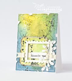 Card with couture creations.